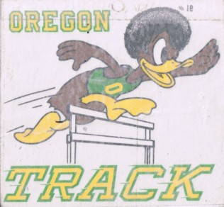 The Duck has gone through numerous changes over the years, including this look in the early 70s