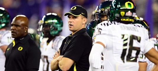 As An Offensive Guru, Helfrich Knows The Importance Of A Solid O-Line