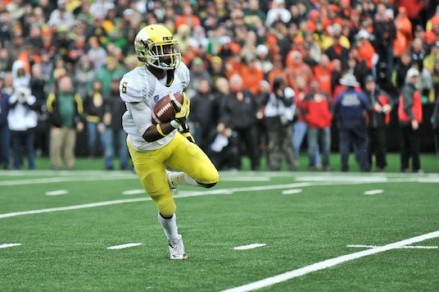 Can De'Anthony keep up his Bowl greatness if the Ducks make it to the National Title?