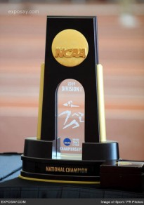 Oregon will look to capture this national championship trophy at Hayward Field in June.