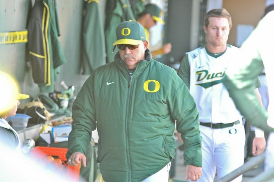 Oregon head baseball coach, George Horton