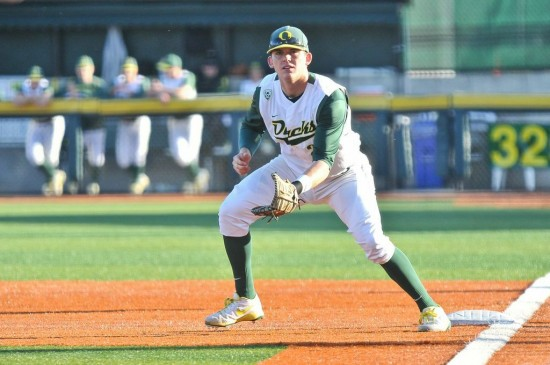 Ryon Healy, Oregon's top draft prospect