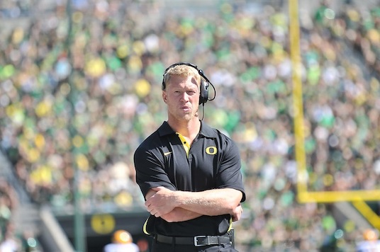 Scott Frost knows his stepping into a big role, but know he's surrounded by bigger talent.