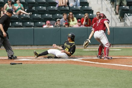 Oregon's base running ability allows for more run opportunities