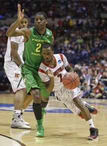 Russ Smith had the game of his life scoring 31 points against the Ducks