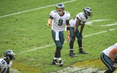 """Nick Foles - """"Can you hear me now?"""""""