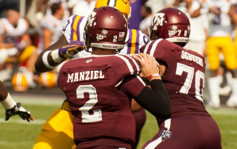 Johnny Manziel looks to make headlines even off the field