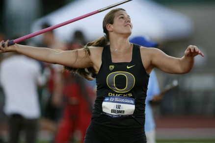 Liz Brenner played a larger part in Oregon's Track & Field success