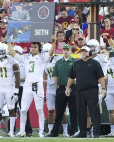 Chip Kelly led the way in innovation while at Oregon, and now it's effecting video games.  Photo Credit: Kevin Cline