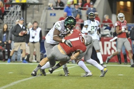 Derrick Malone is the heart and soul of the Oregon defense.