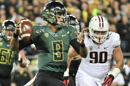 Sophomore QB Marcus Mariota will lead the Ducks in 2013 in what is sure to be another great season.