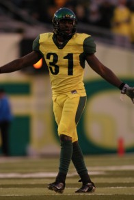 Oregon has done yellow before....(Justin Phinisee 2003)