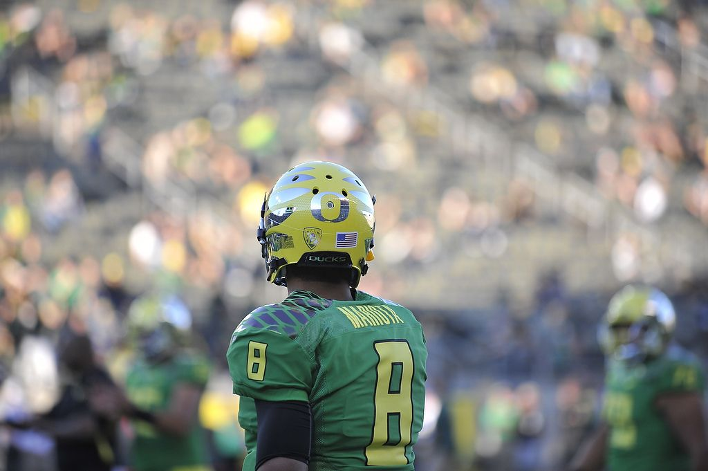 Mariota has the Ducks poised to make another Pac-12 title run.