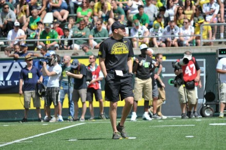 Mark Helfrich looks to keep the Ducks performing at a high level in his first season as head coach.