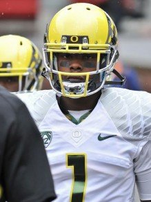Josh Huff is the Ducks' most experienced receiver.