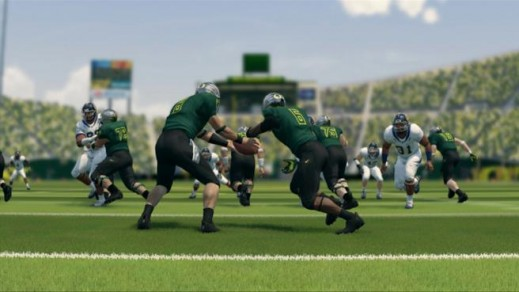NCAA 14 features improved read option play