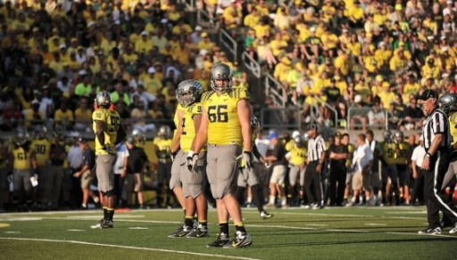 Taylor Hart is the Ducks' most experienced lineman, and he's a potential All-American.