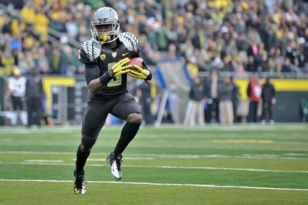 De'Anthony Thomas has a good chance of breaking Oregon's all-time scoring record.