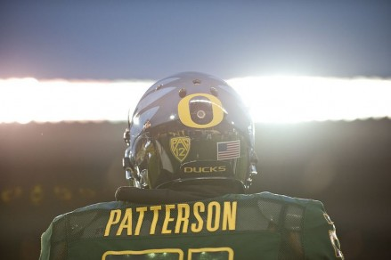 Avery Patterson is one of the most seasoned players on the Oregon defense.
