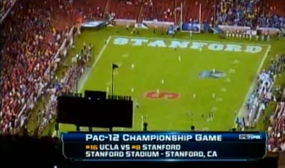 Fans came out in full force to witness Stanford's first conference championship in 13 years