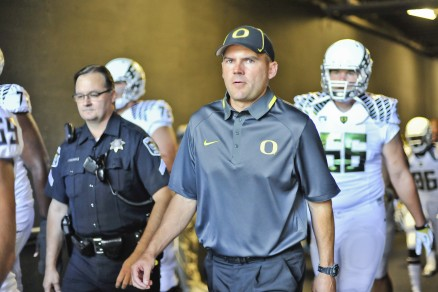 Mark Helfrich doesn't need to be a wizard to avoid upsets.