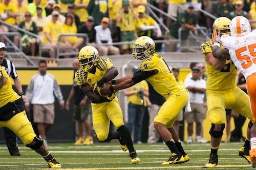 Mariota's decision-making will be the key variable in Oregon's pursuit of a title in 2013.