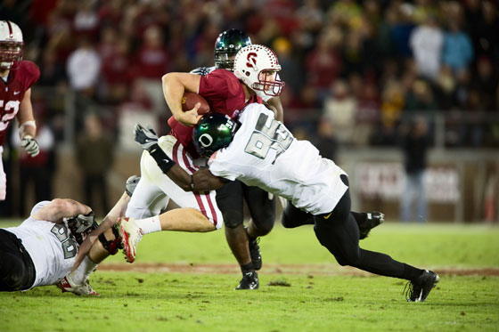 What could Stanford have done in 2011 without the Oregon game?