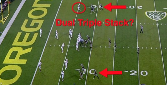 Dual Triple Stack Formation