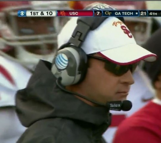 Lane Kiffin's future is so bright he has to wear...no wait, that's not right...
