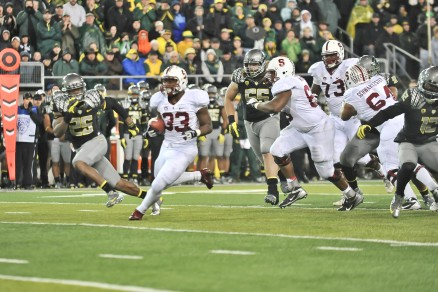 Stepfan Taylor, as well as past Stanford backs, have been an achilles heel for the Oregon defense.