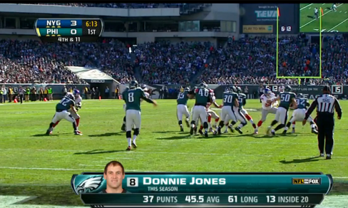 The Eagles' MVP: punter Donnie Jones