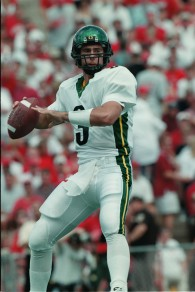 Oregon legend Joey Harrington in action.