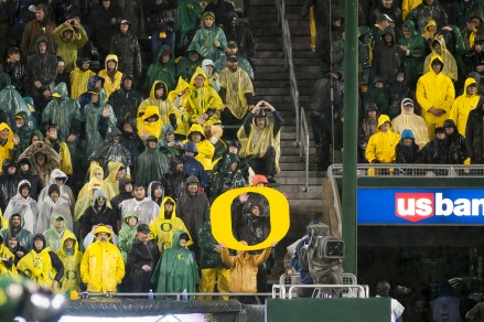 It never rains at Autzen