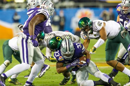 After losses, Kansas State and Oregon battled it out.