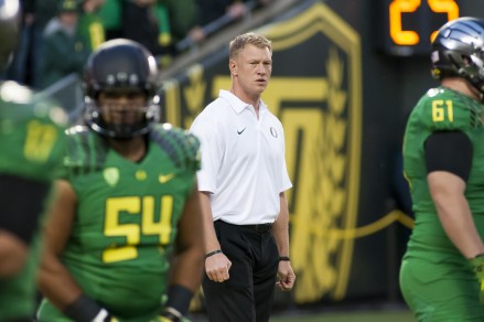 Scott Frost, who played QB for Nebraska in 1996-97, could experience some mixed emotions during these games.
