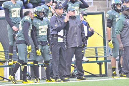 HC Mark Helfrich and the rest of the coaching staff made all the necessary changes in the second half. Chip Kelly may have gotten too much credit when he was coaching here because the team hasn't skipped a beat without him.