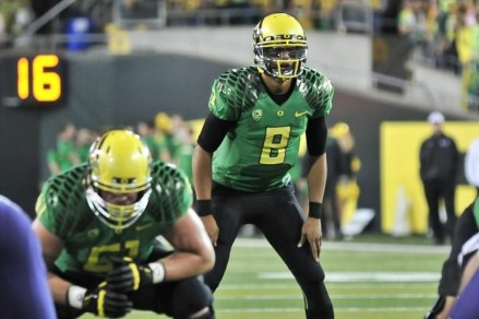 Marcus Mariota's play will be crucial in propelling the Ducks to the National Championship game