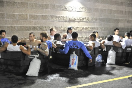 It's no surprise UCLA players were quick to hit the ice baths