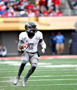 Photo: Pyles The Civil War will likely be the final home game for De'Anthony Thomas.