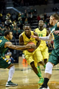 The Ducks Took It Strong To The Basket The Entire Night, Led By Elgin Cook