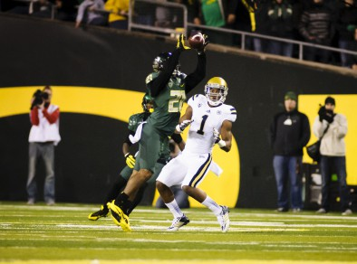 Avery Patterson has helped the Ducks defense take away the big plays for opponents.