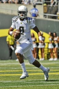 Marcus Mariota has yet to throw an interception and leads one of the top offenses in the nation.
