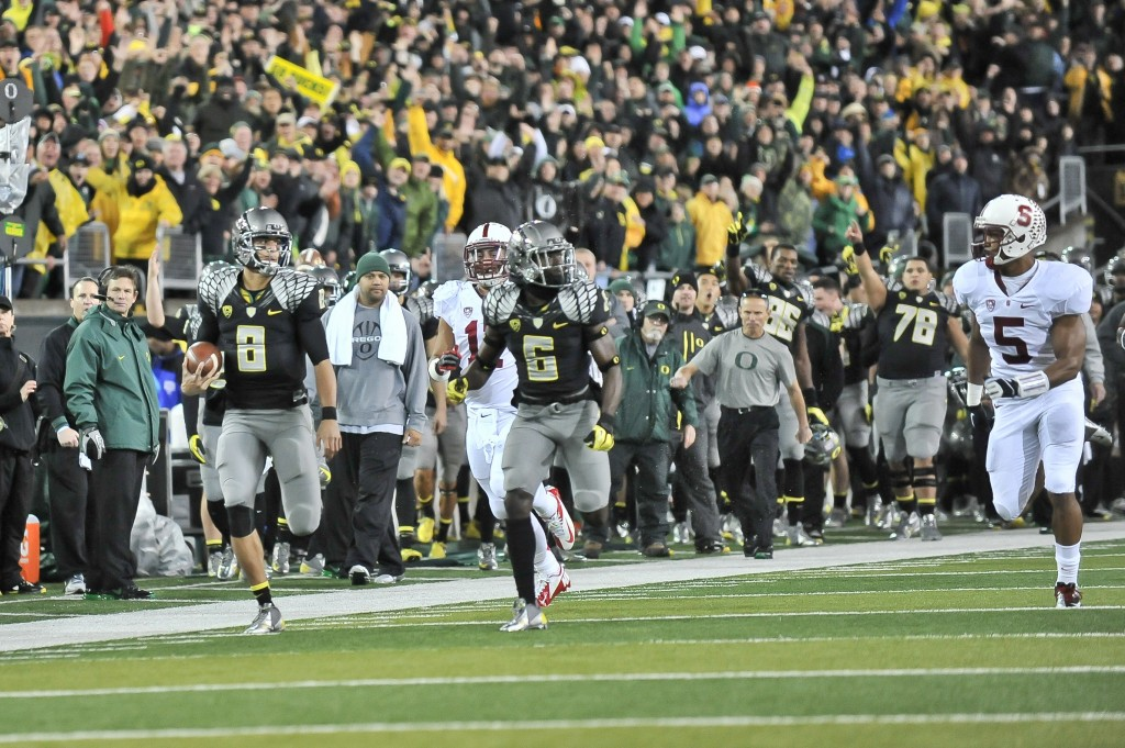 Mariota and the Ducks will try to outrun Stanford in 2013