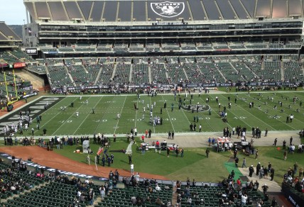 The view from the press box