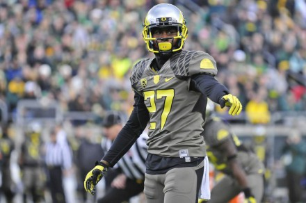 If Terrance Mitchell can play as well as he did against Utah for the rest of the year, Oregon's secondary will be tough to beat.