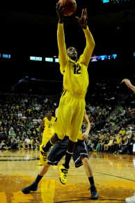 Jason Calliste gets to the rim for two of his career high 31 points.