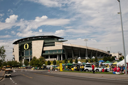 Could expanding the north end to mirror the south end be in Autzen Stadium's future?