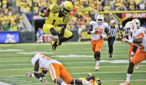 Replacing Josh Huff won't be easy, but the Ducks have the pieces