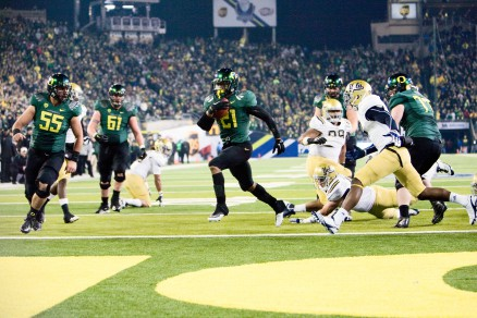 LaMichael James was a diamond in the rough before coming to Oregon