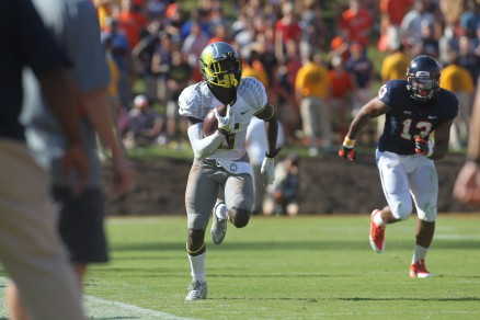 De'Anthony Thomas hit his stride against Virginia
